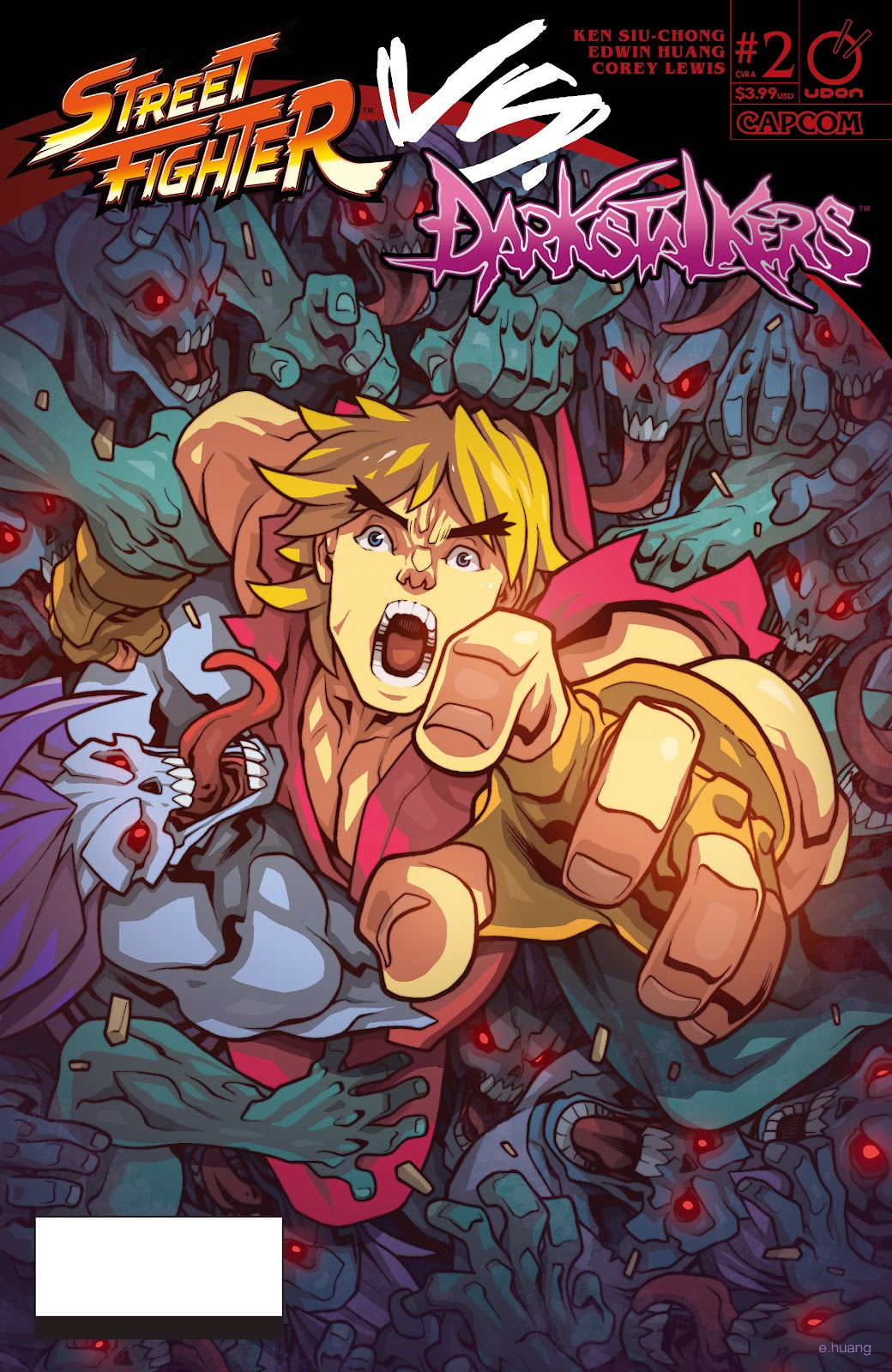Street Fighter VS Darkstalkers Issue #2 #3 - English 1