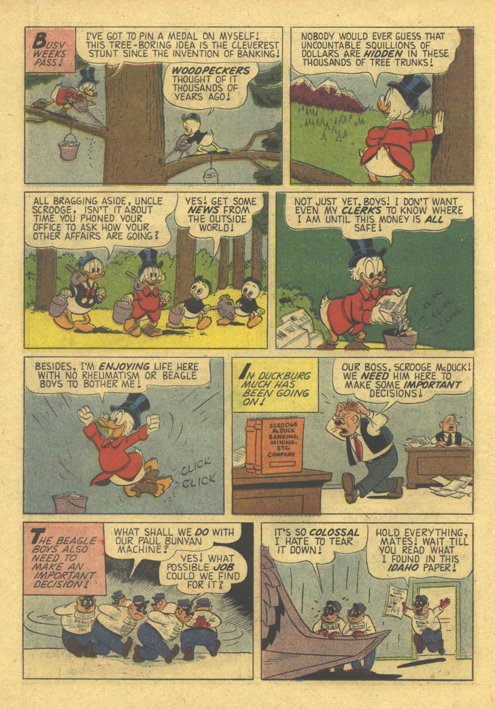 Uncle Scrooge (1953) Issue #28 #28 - English 14