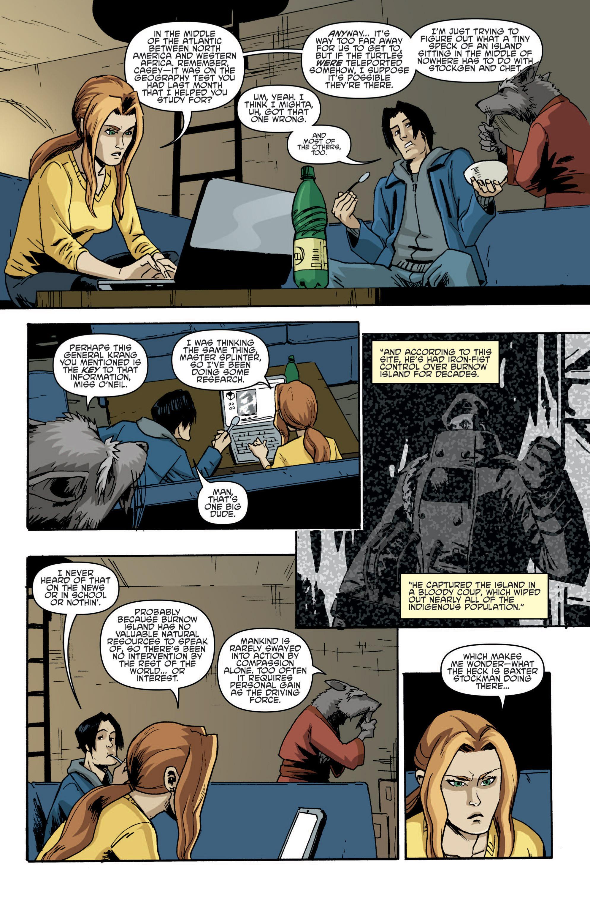 Read online Teenage Mutant Ninja Turtles (2011) comic -  Issue #19 - 11