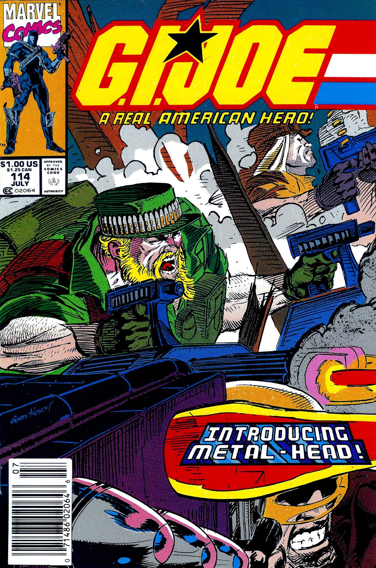 G.I. Joe: A Real American Hero 114 Page 1