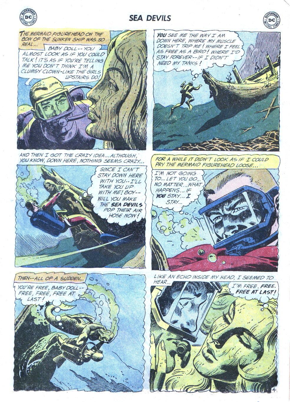 Read online Sea Devils comic -  Issue #4 - 7