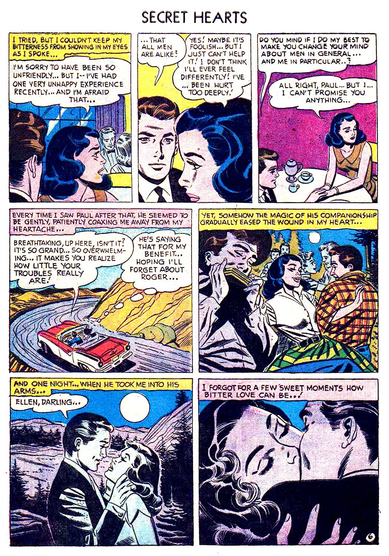 Read online Secret Hearts comic -  Issue #41 - 8