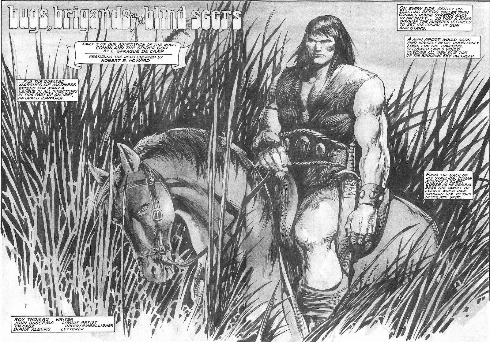 The Savage Sword Of Conan Issue #207 #208 - English 10