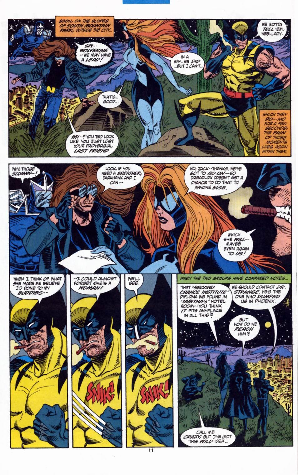 Read online Secret Defenders comic -  Issue #2 - 10
