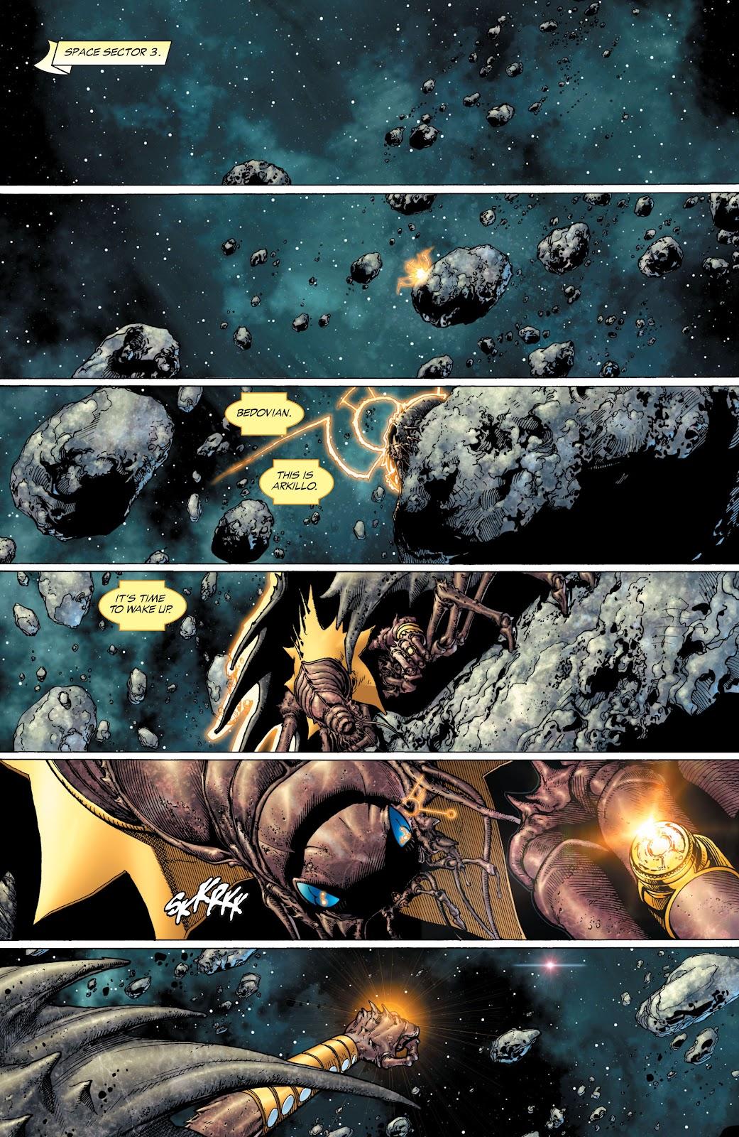 Green Lantern: The Sinestro Corps War Full #1 - English 19