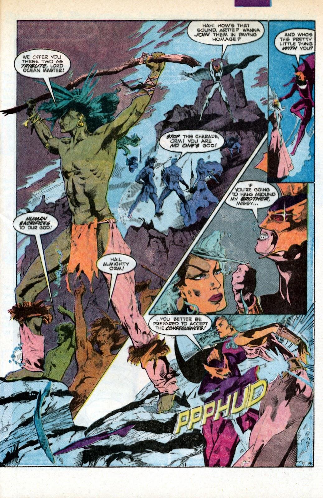 Aquaman (1986) Issue #3 #3 - English 5