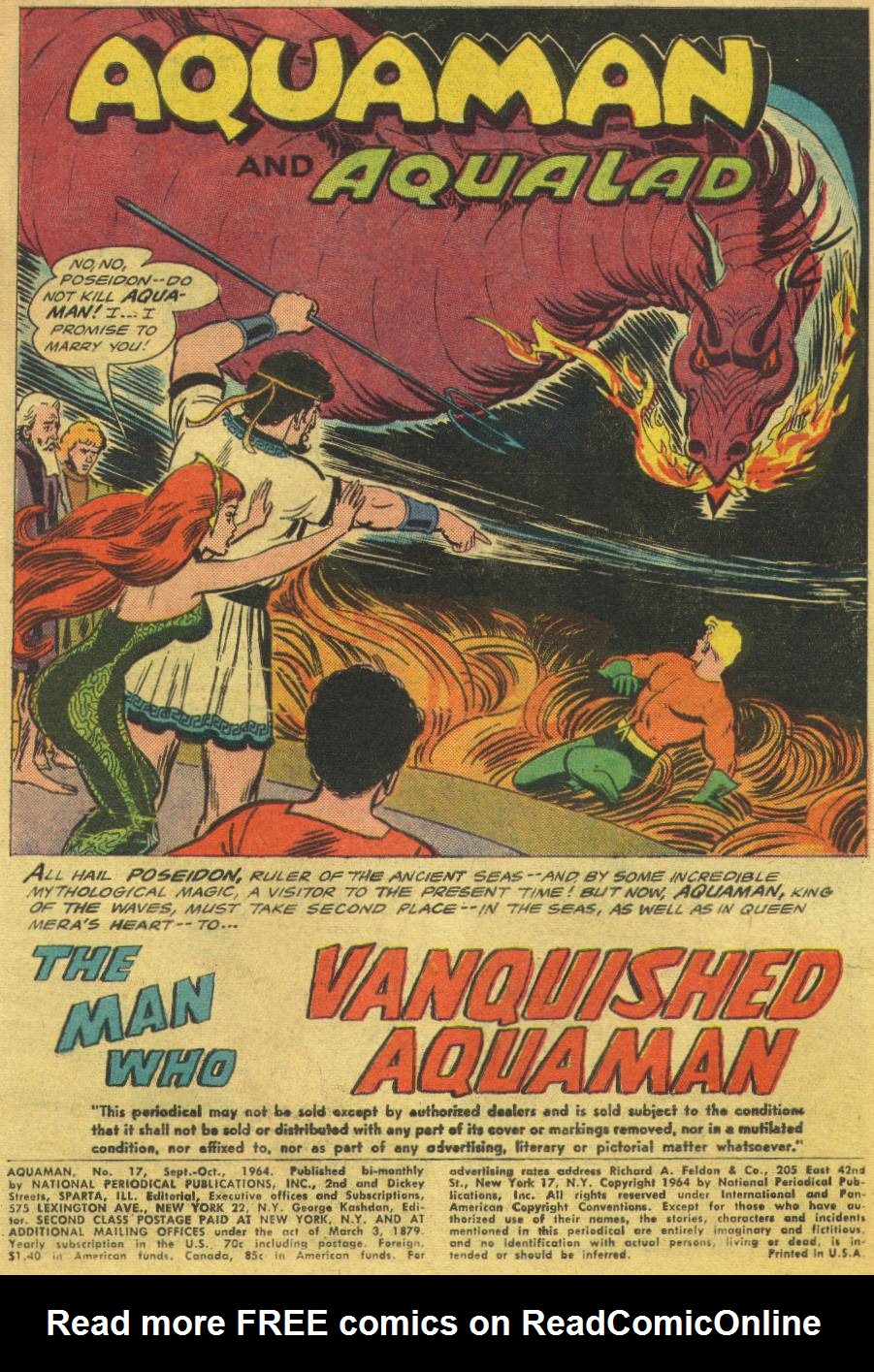 Aquaman (1962) Issue #17 #17 - English 3