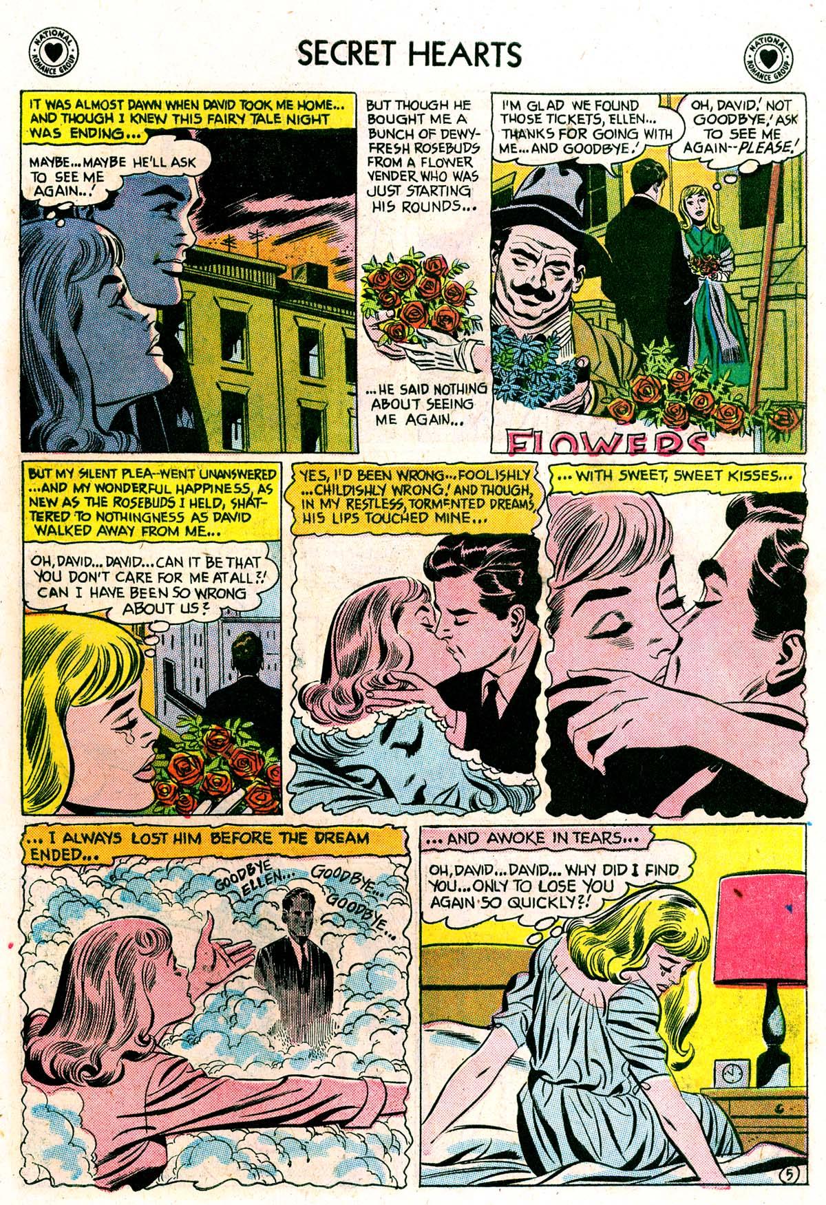 Read online Secret Hearts comic -  Issue #42 - 7