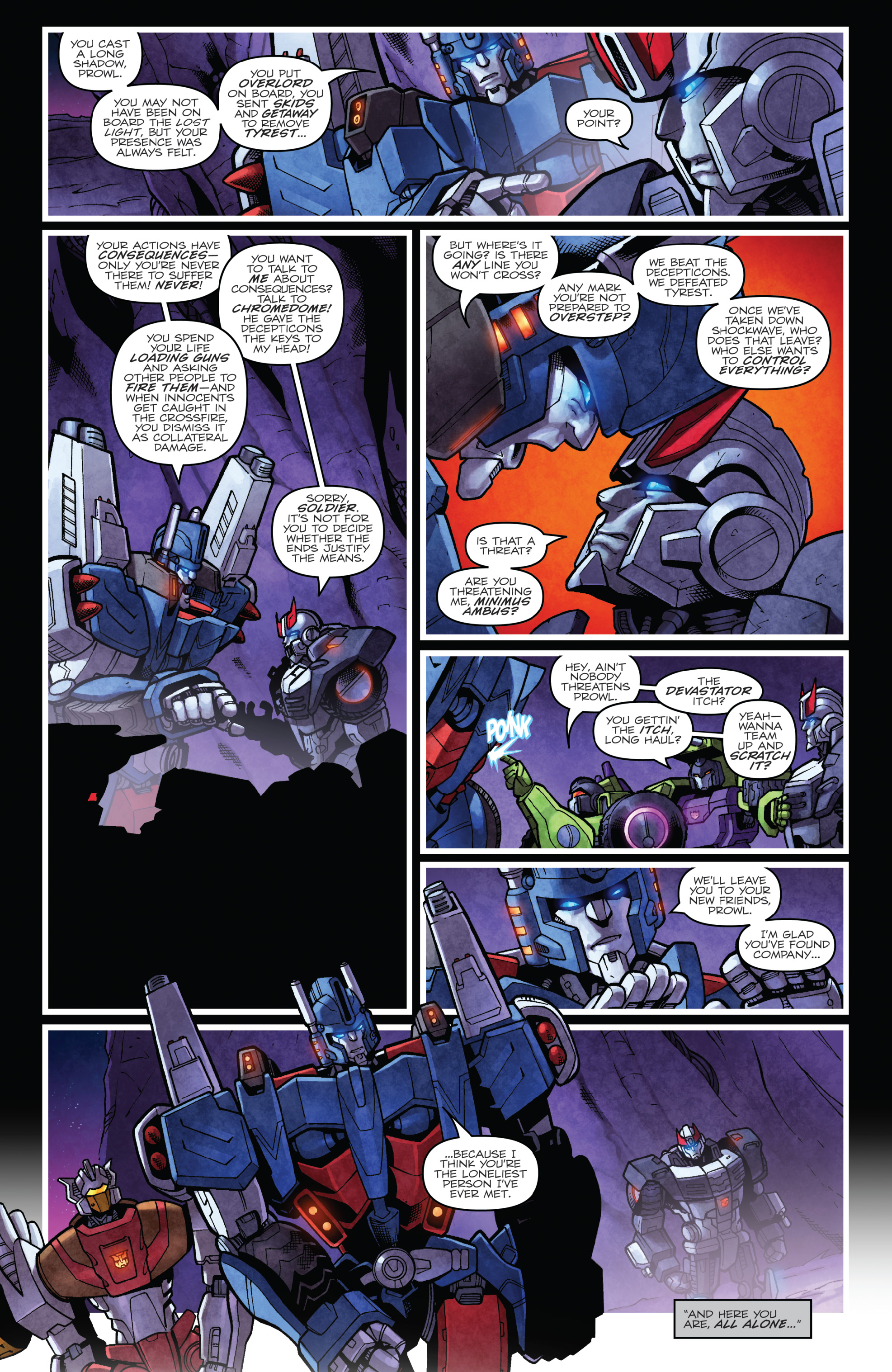 Read online The Transformers: Dark Cybertron Finale comic -  Issue # Full - 95