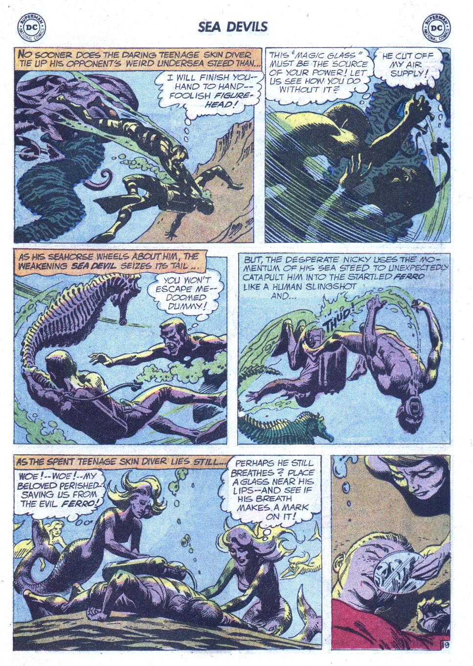 Read online Sea Devils comic -  Issue #6 - 28