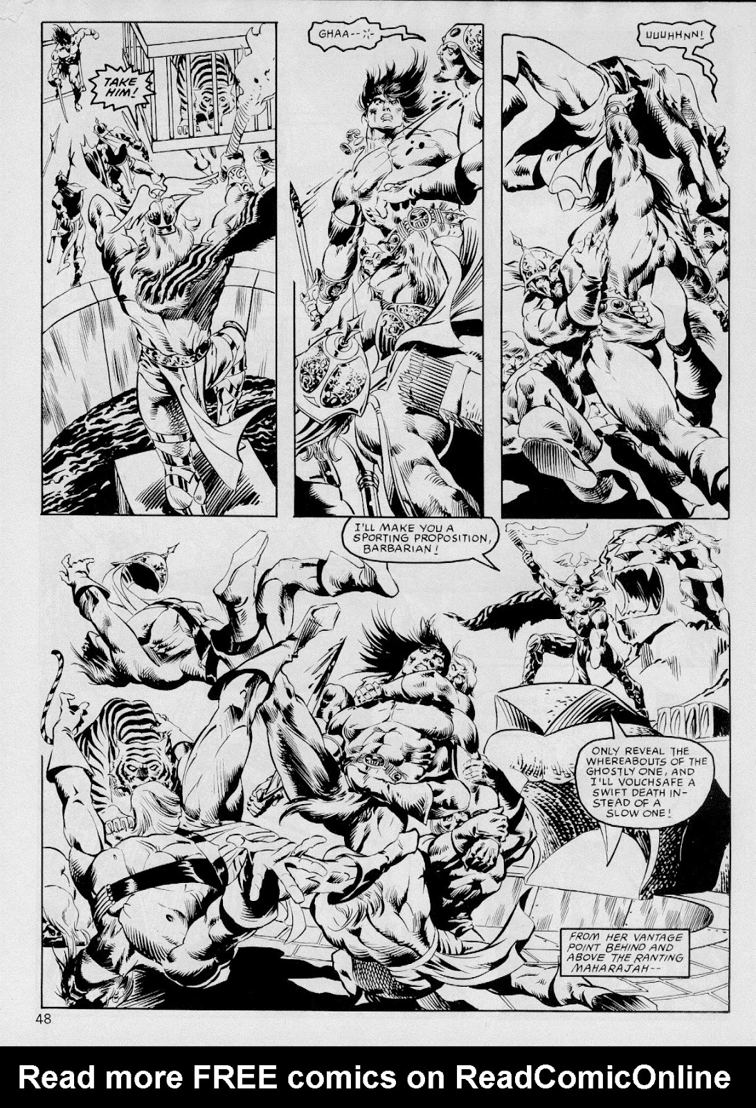 The Savage Sword Of Conan Issue #103 #104 - English 47