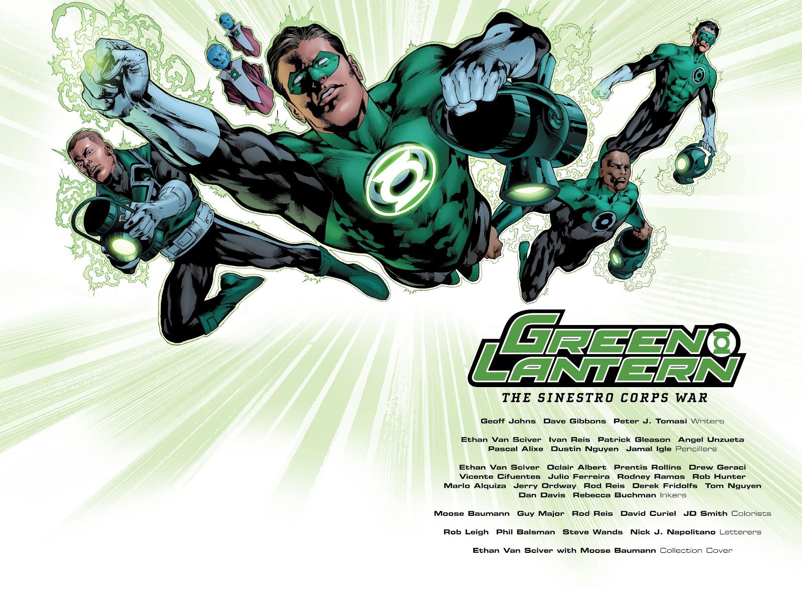 Green Lantern: The Sinestro Corps War Full #1 - English 3