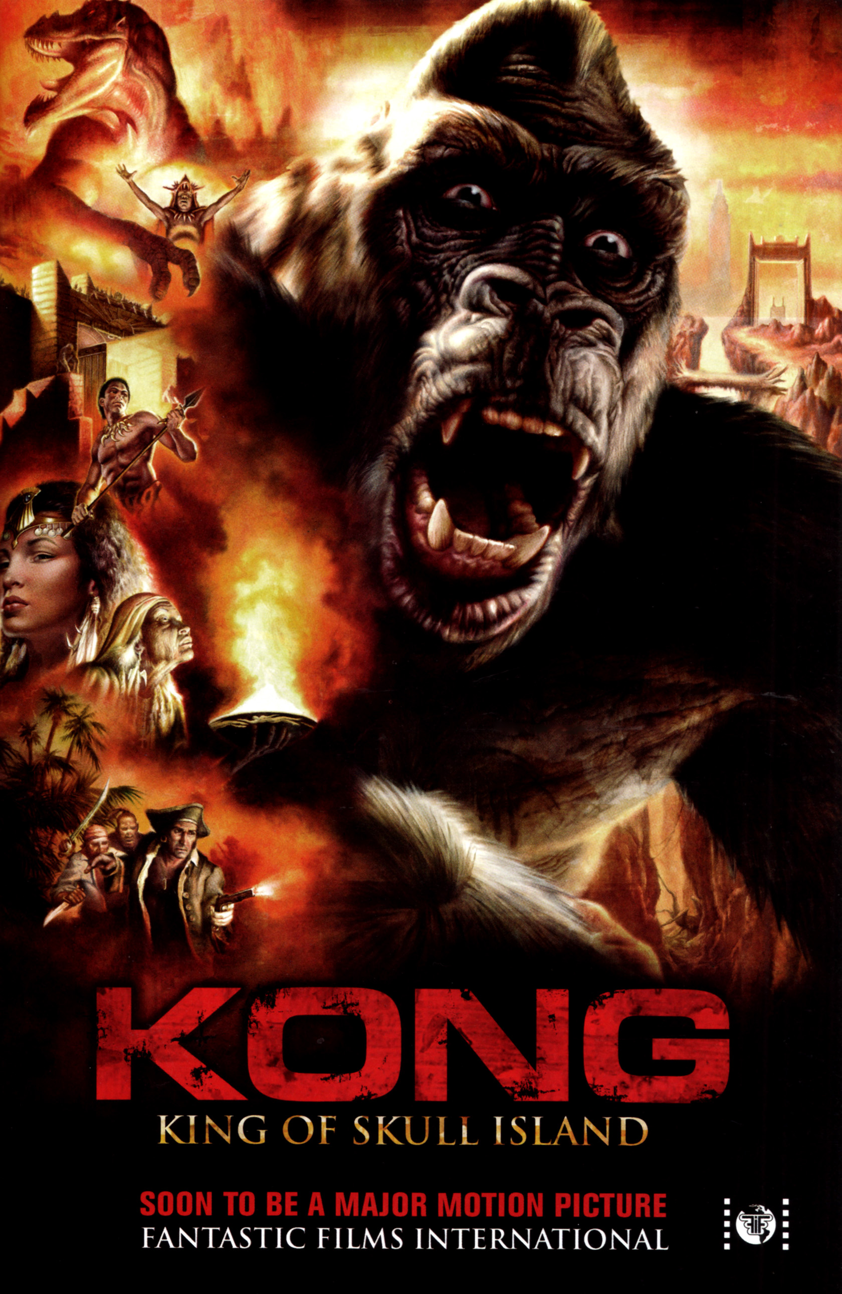 Read online Kong: King Of Skull Island comic -  Issue #5 - 29