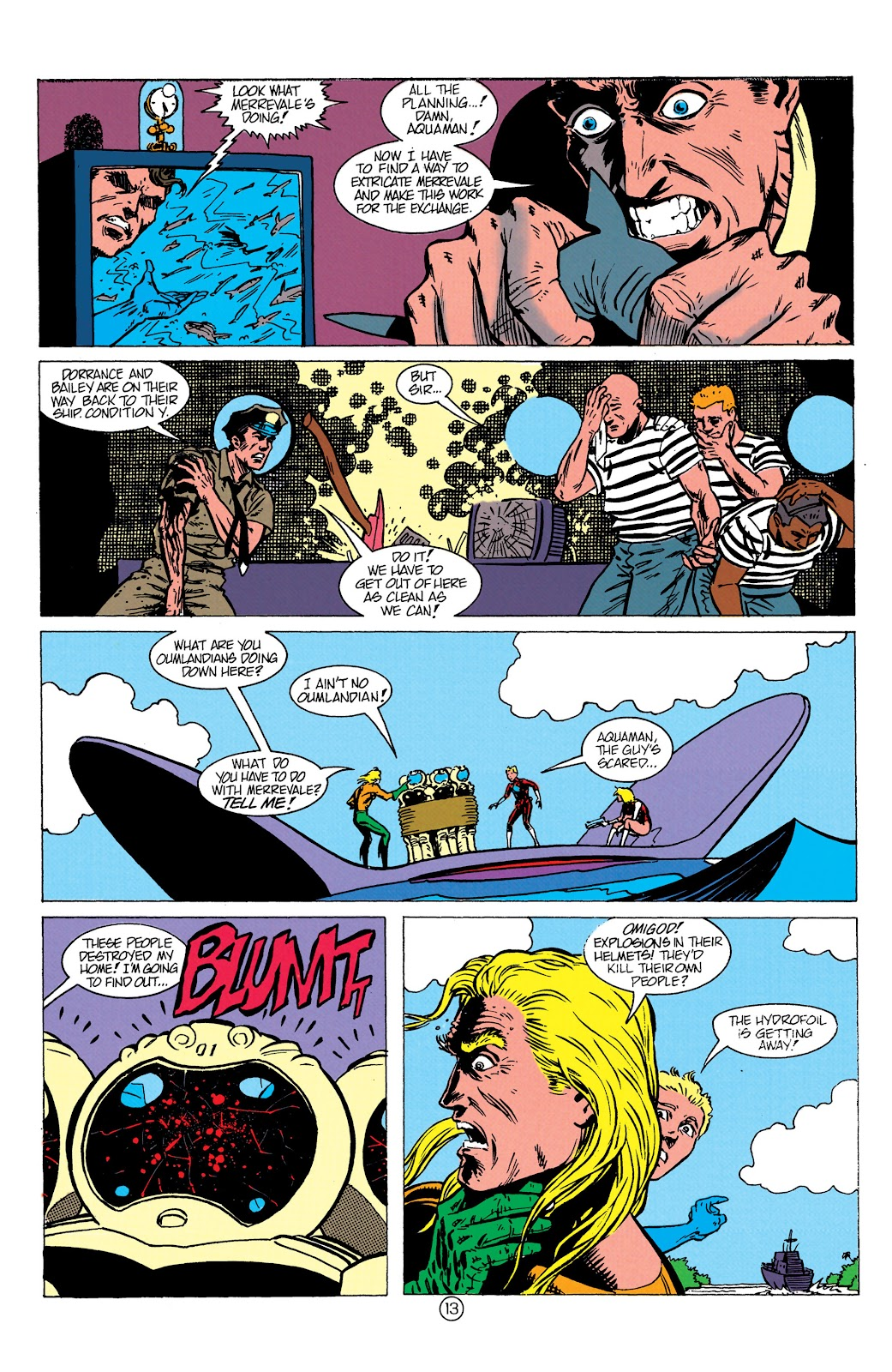 Aquaman (1991) Issue #10 #10 - English 14