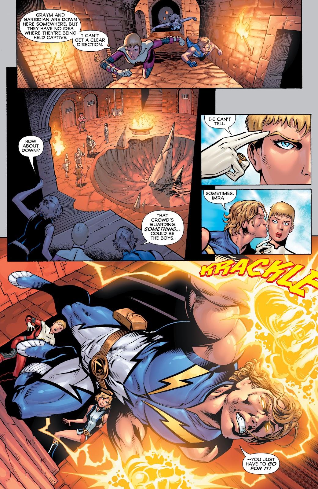 Legion of Super-Heroes (2010) Issue #4 #5 - English 11