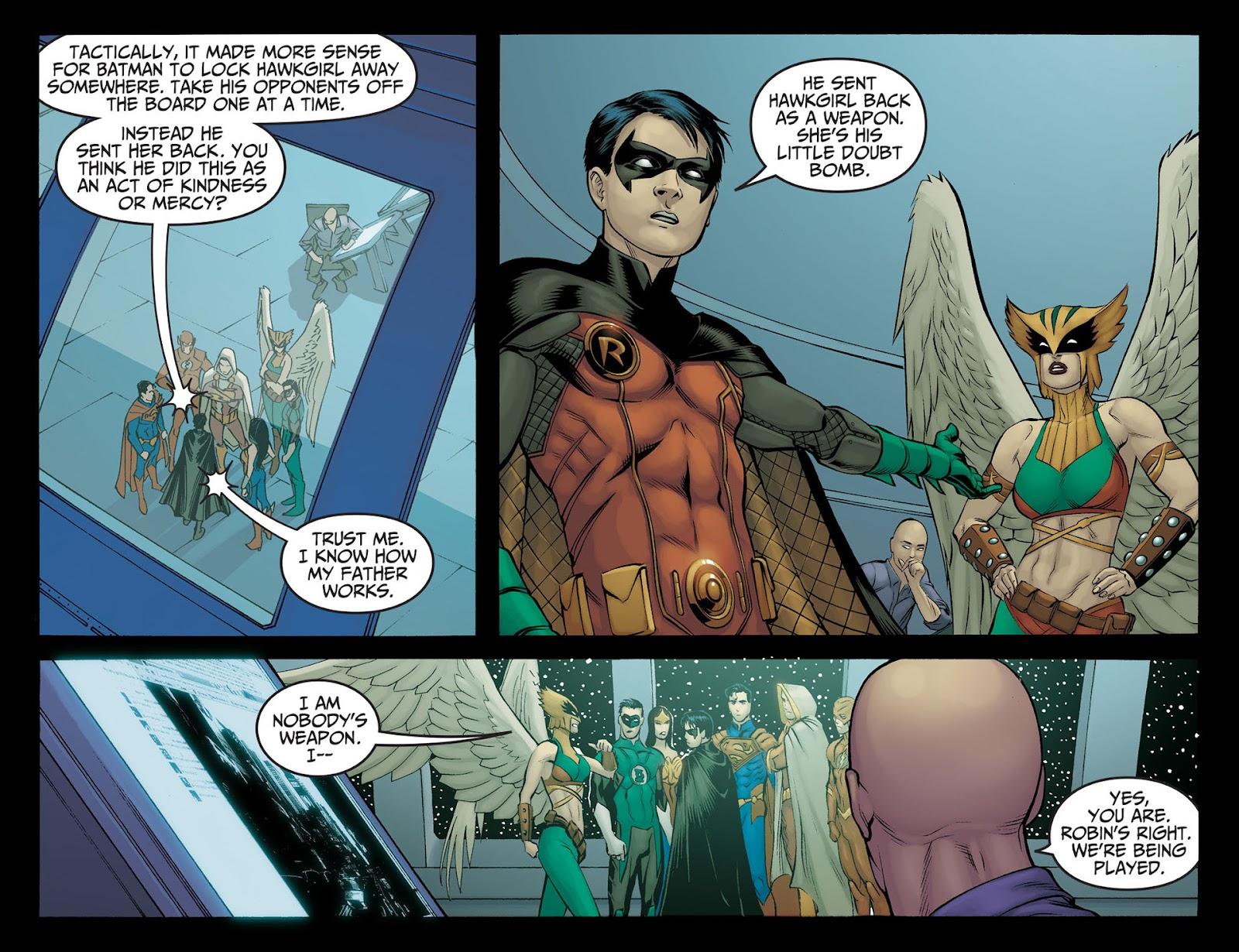 Injustice: Gods Among Us [I] Issue #22 #23 - English 7
