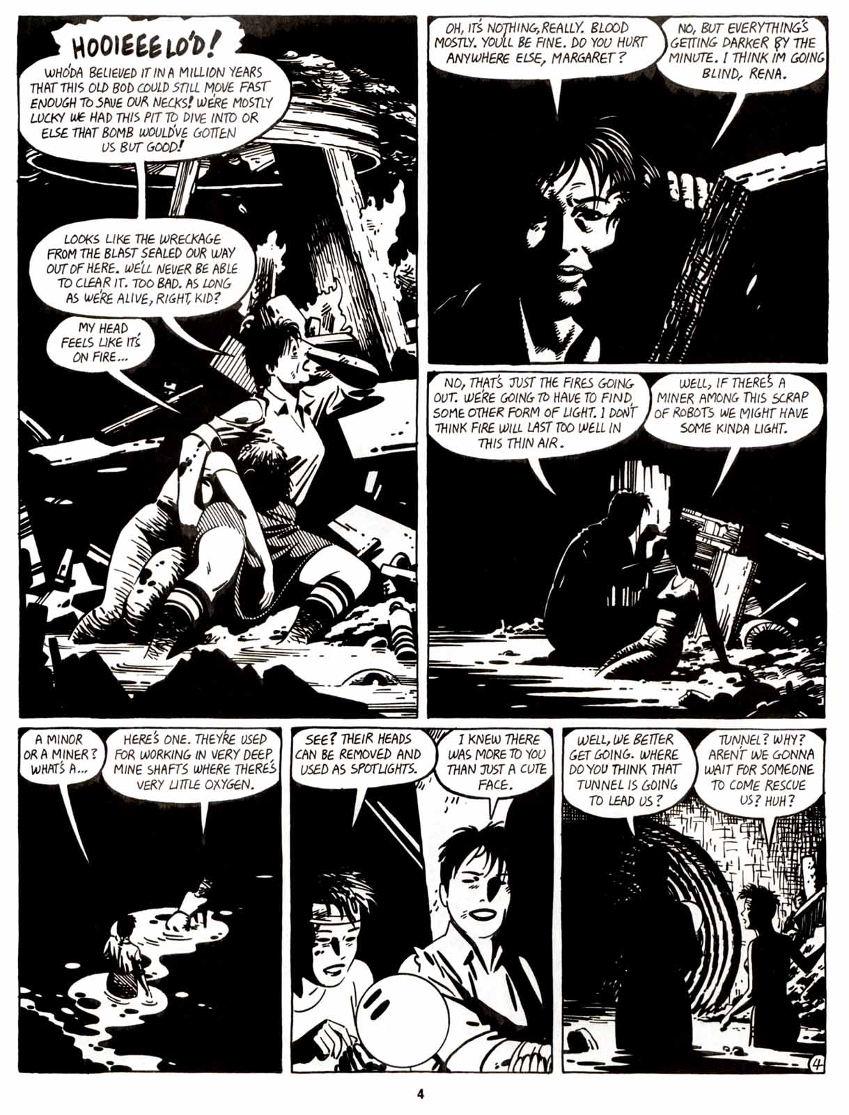 Love and Rockets (1982) Issue #9 #8 - English 6