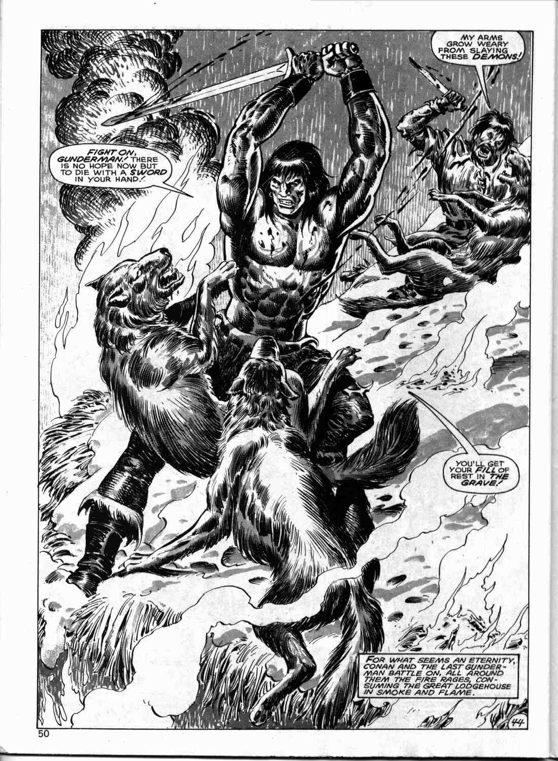 The Savage Sword Of Conan Issue #133 #134 - English 49