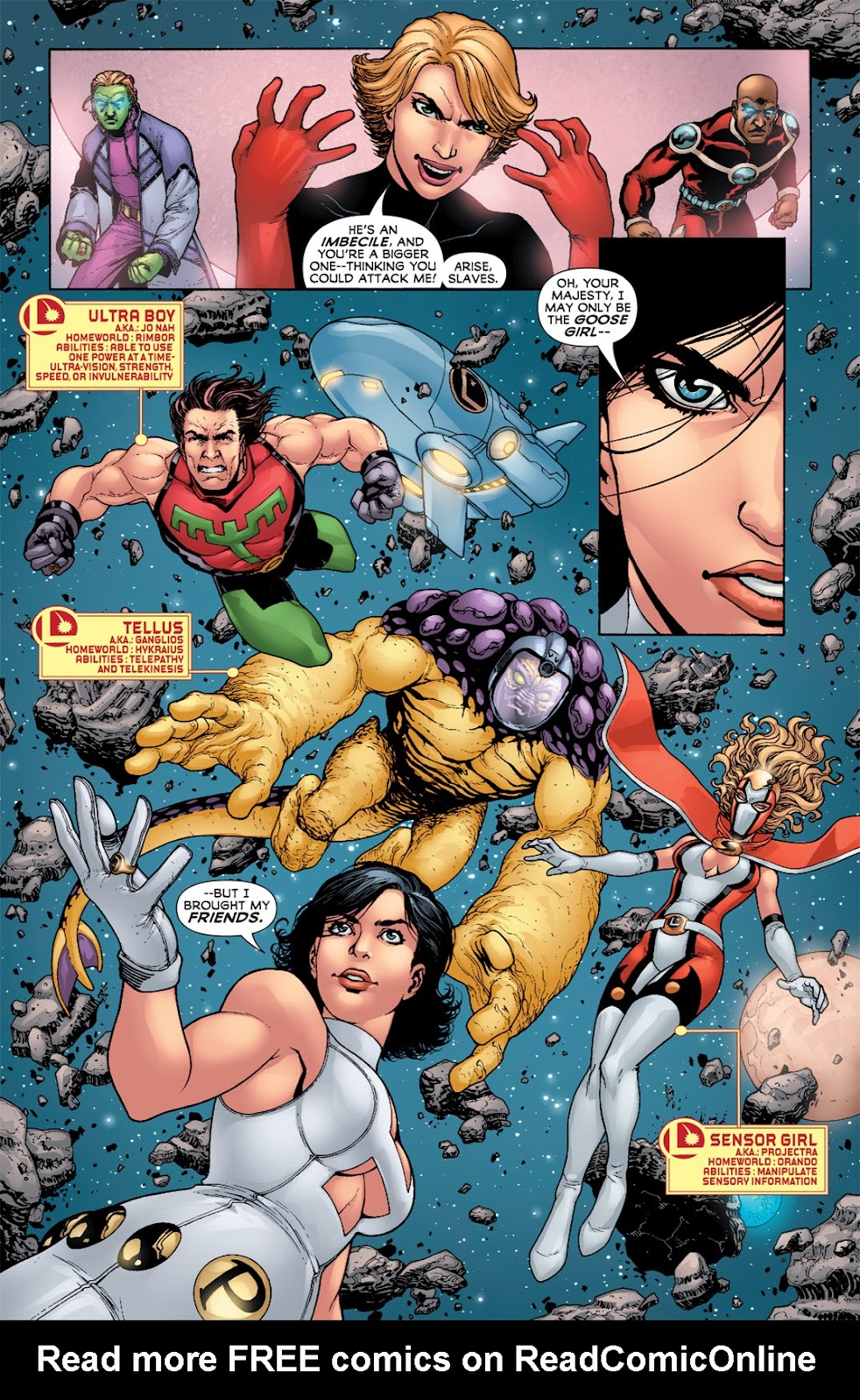 Legion of Super-Heroes (2010) Issue #3 #4 - English 21