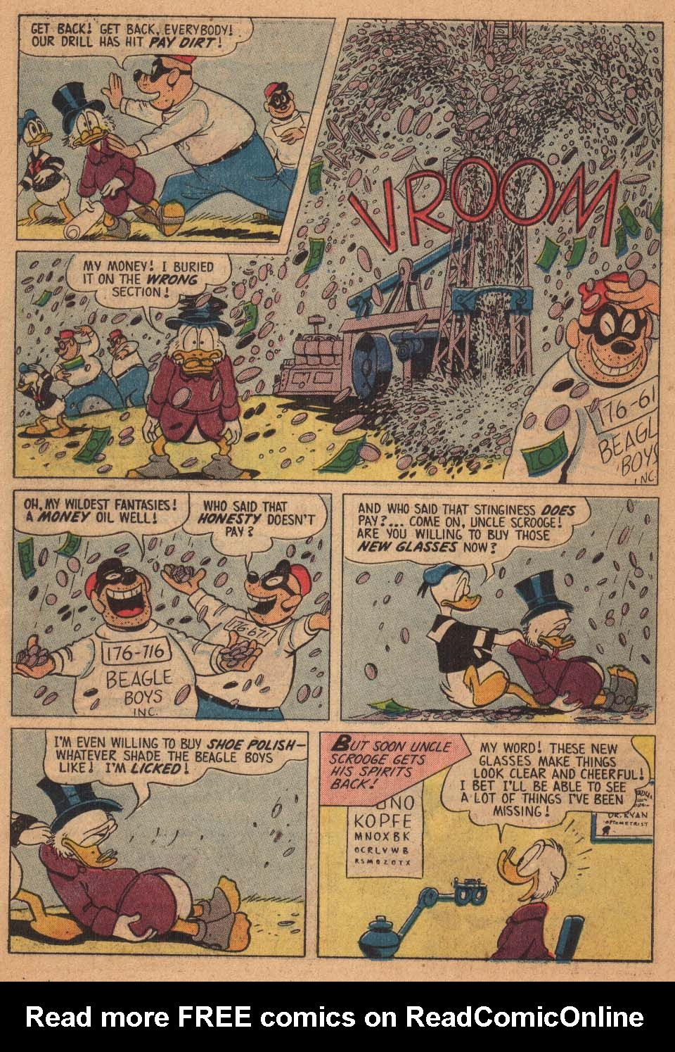 Uncle Scrooge (1953) Issue #21 #21 - English 22