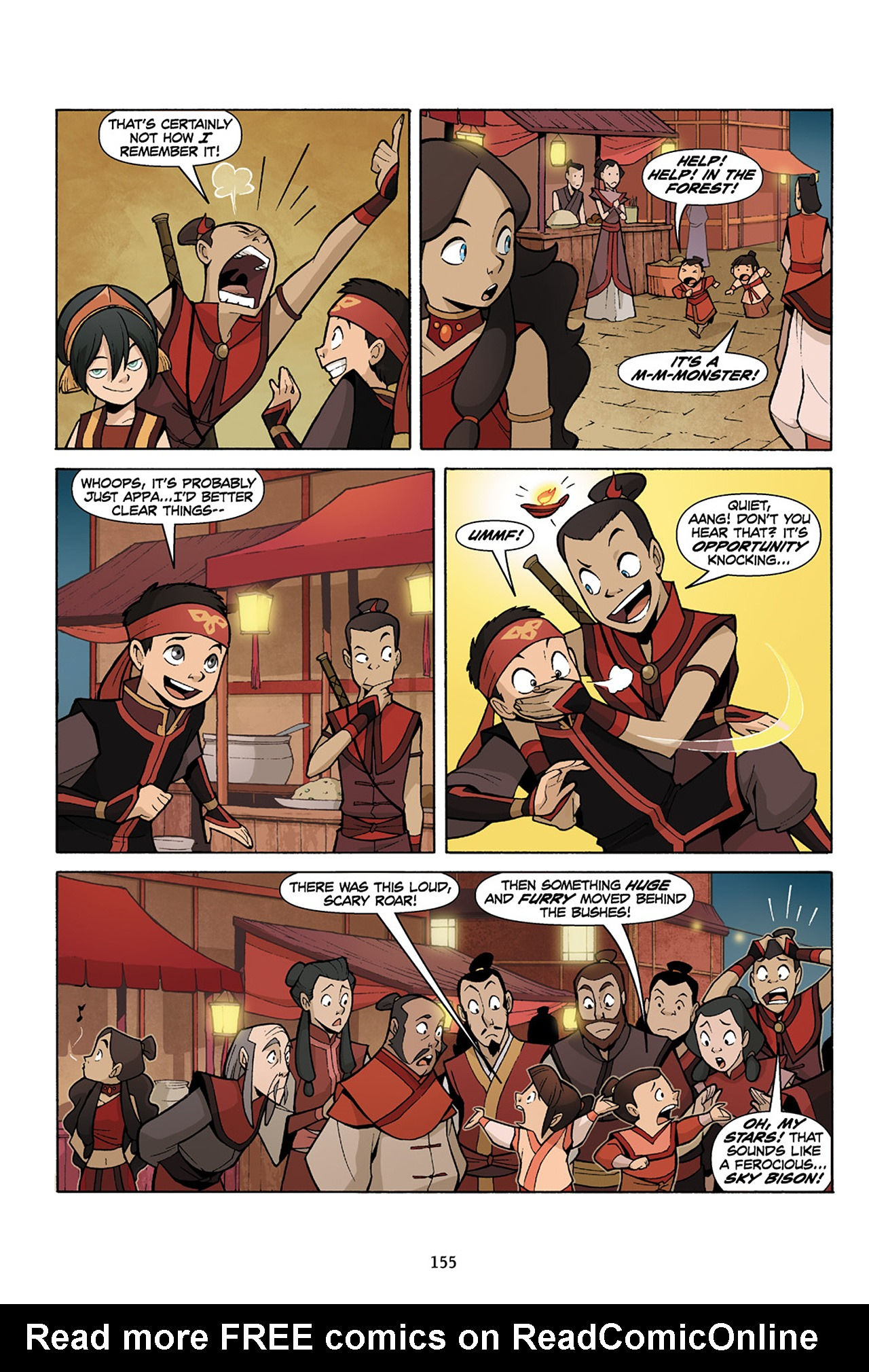 Nickelodeon Avatar: The Last Airbender - The Lost Adventures chap full pic 156