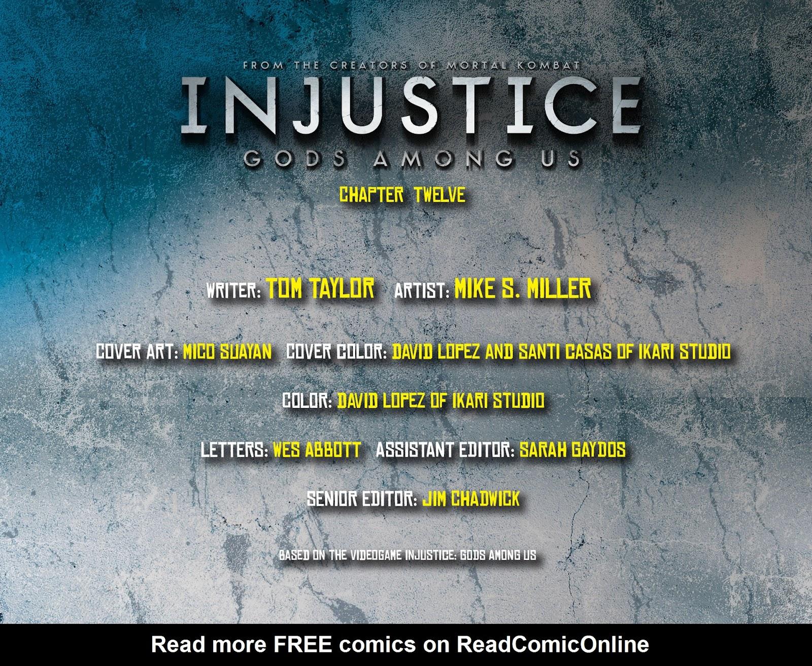 Injustice: Gods Among Us [I] Issue #12 #13 - English 2
