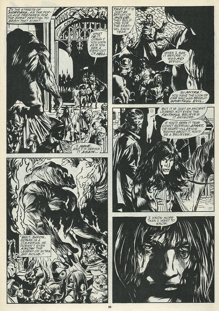 The Savage Sword Of Conan Issue #185 #186 - English 27