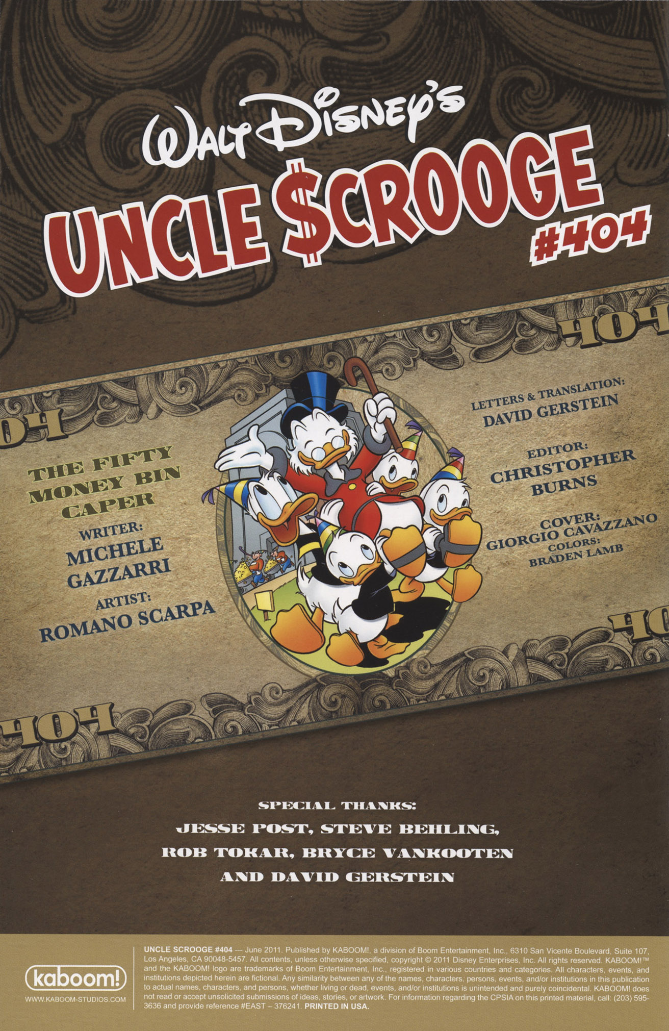 Uncle Scrooge (1953) #404 #404 - English 2