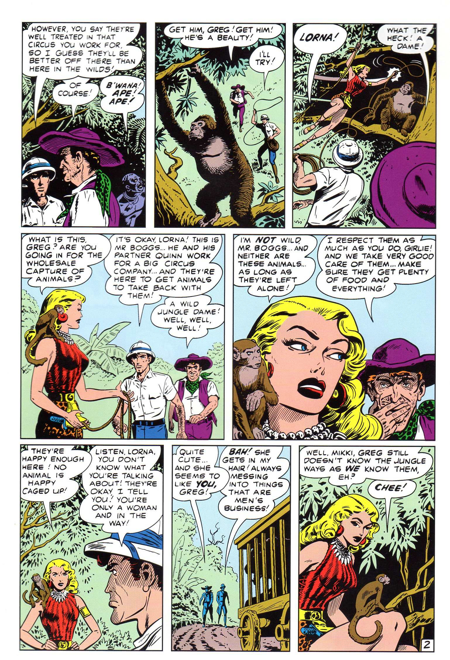 Read online Lorna, The Jungle Queen comic -  Issue #4 - 3