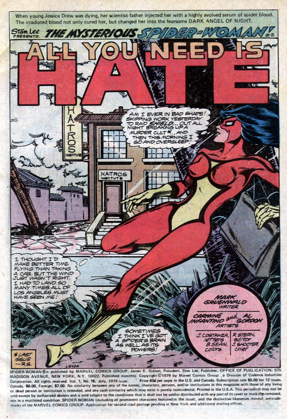 Spider-Woman (1978) Issue #16 #16 - English 2