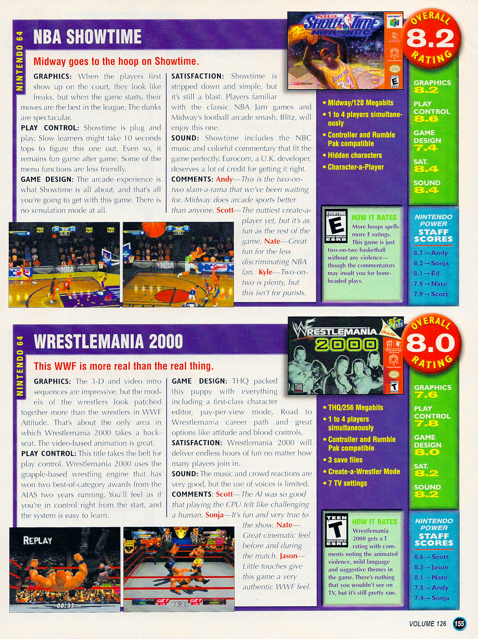 Nintendo Power #127 #127 - English 180
