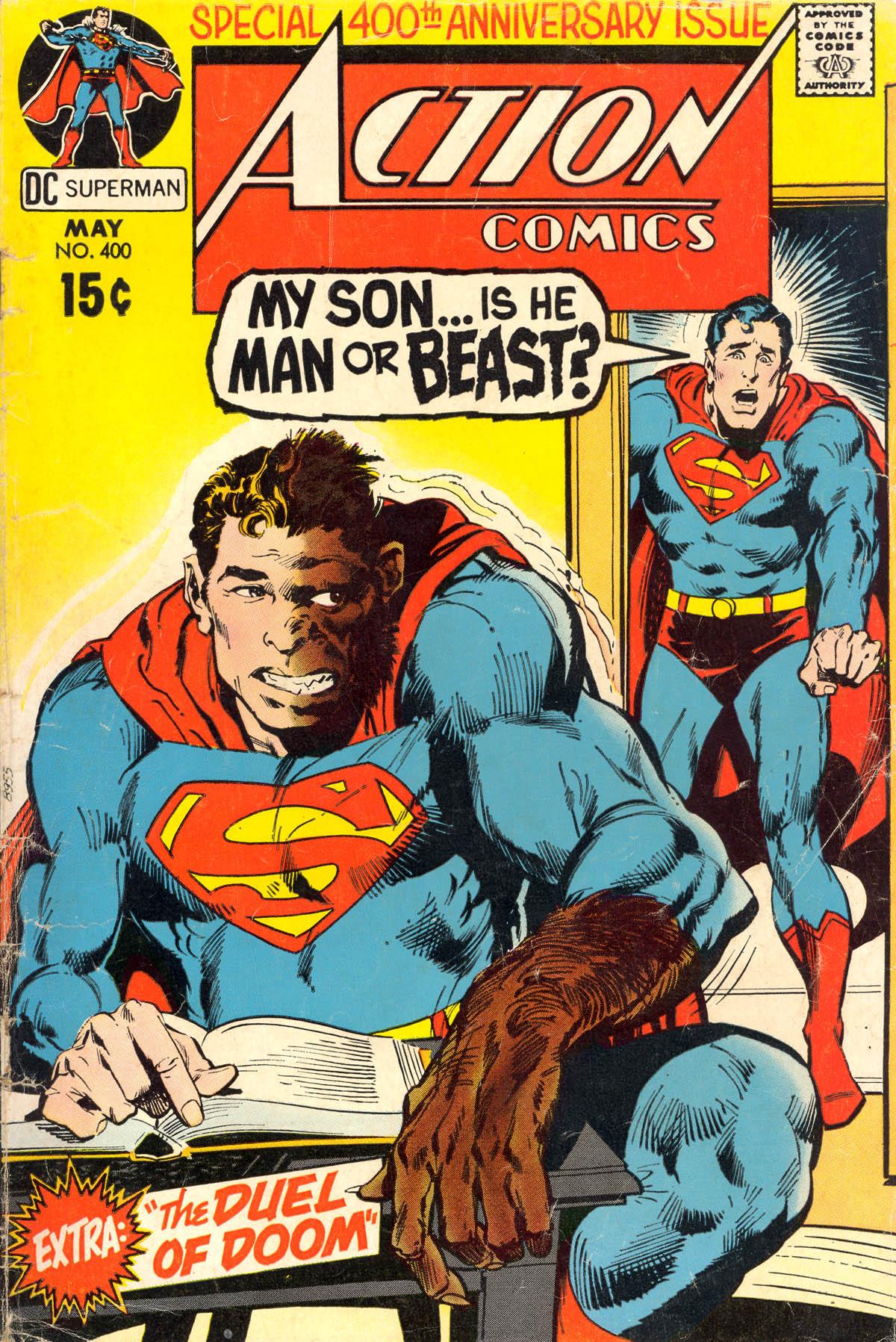 Action Comics (1938) 400 Page 1
