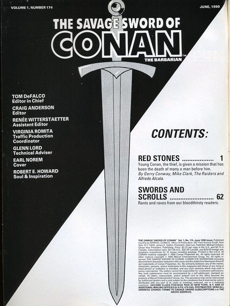The Savage Sword Of Conan Issue #174 #175 - English 2