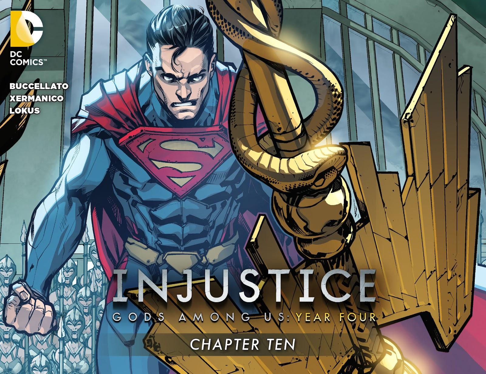 Injustice: Gods Among Us Year Four Issue #10 #11 - English 1