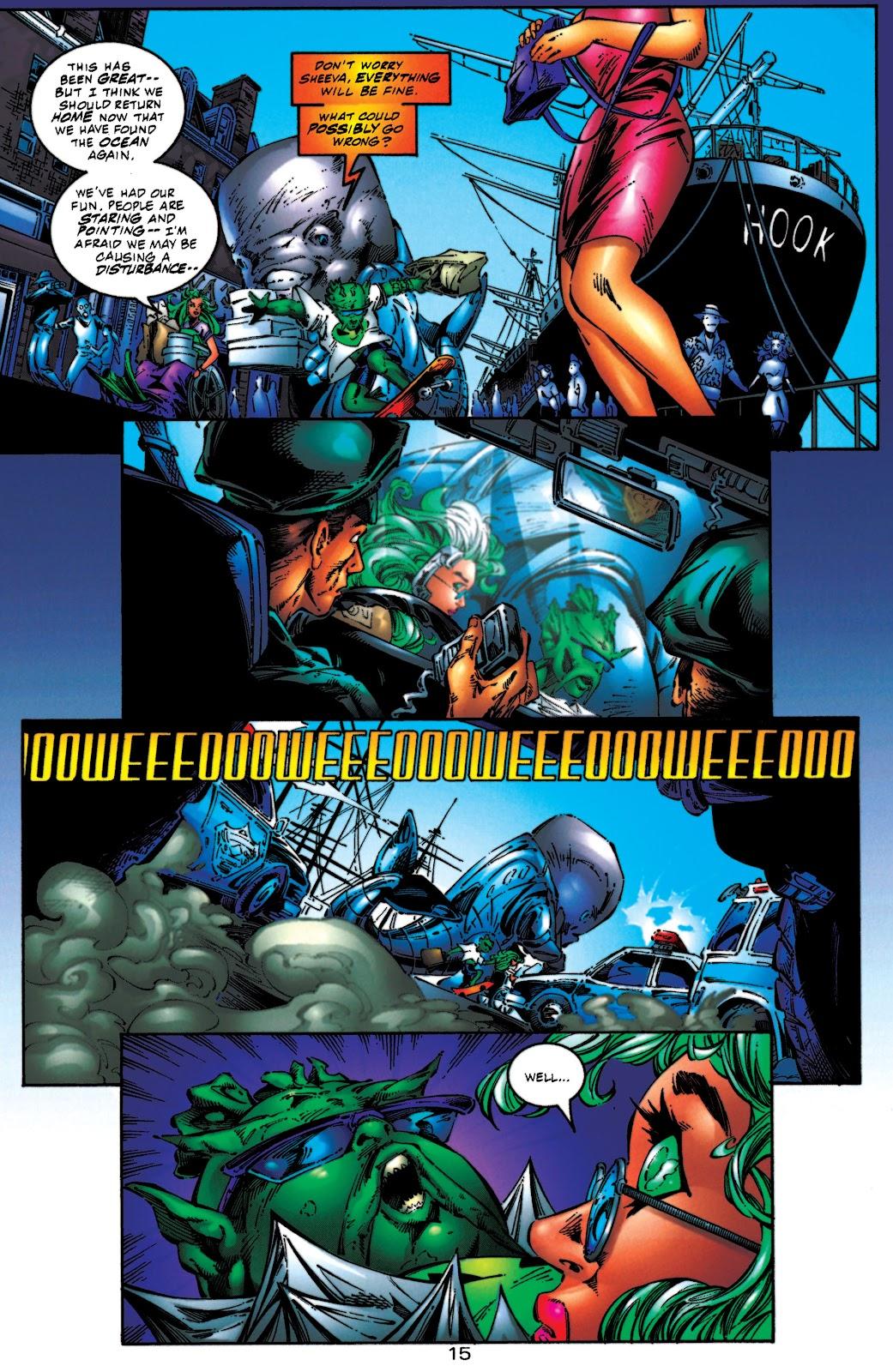 Aquaman (1994) Issue #54 #60 - English 16