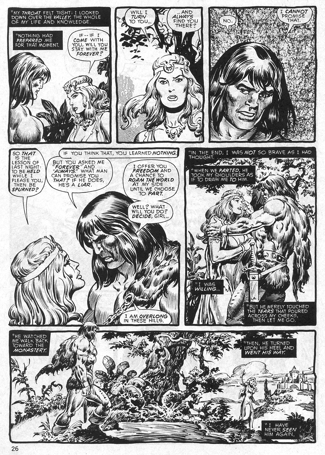 The Savage Sword Of Conan Issue #29 #30 - English 26
