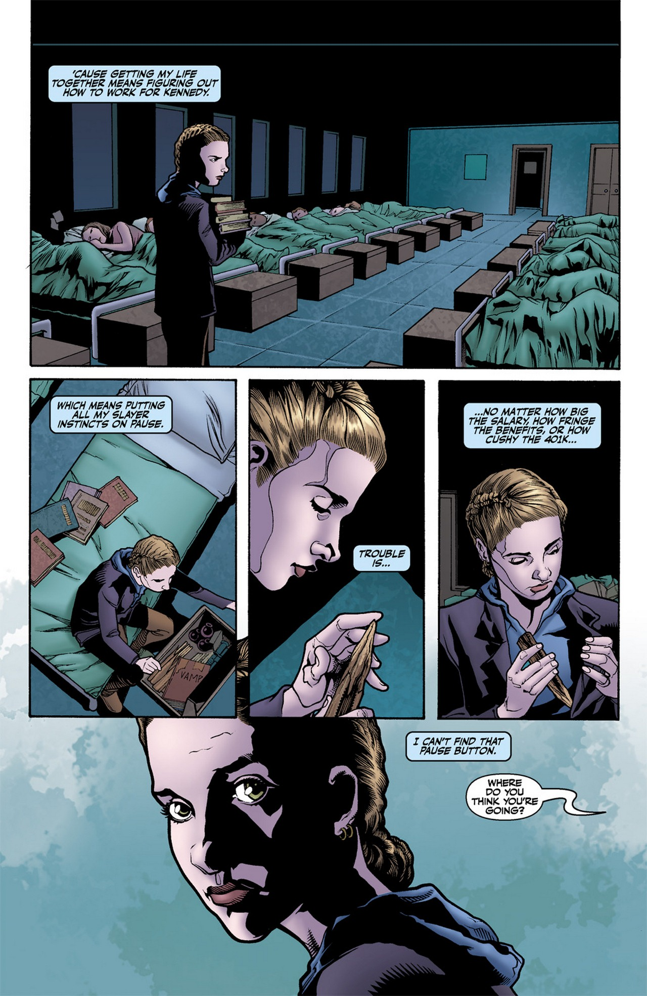 Read online Buffy the Vampire Slayer Season Nine comic -  Issue #11 - 15