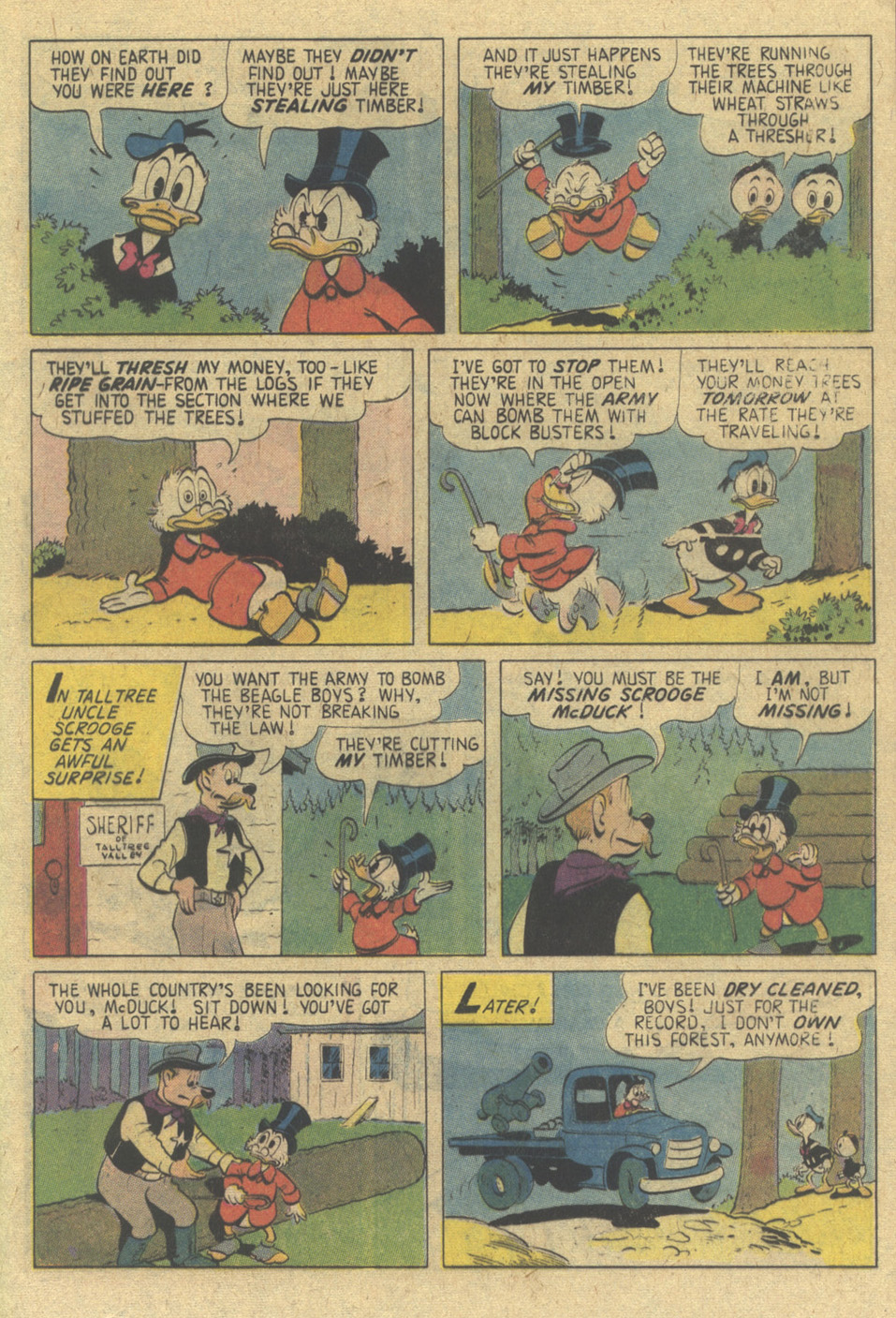 Uncle Scrooge (1953) Issue #144 #144 - English 21