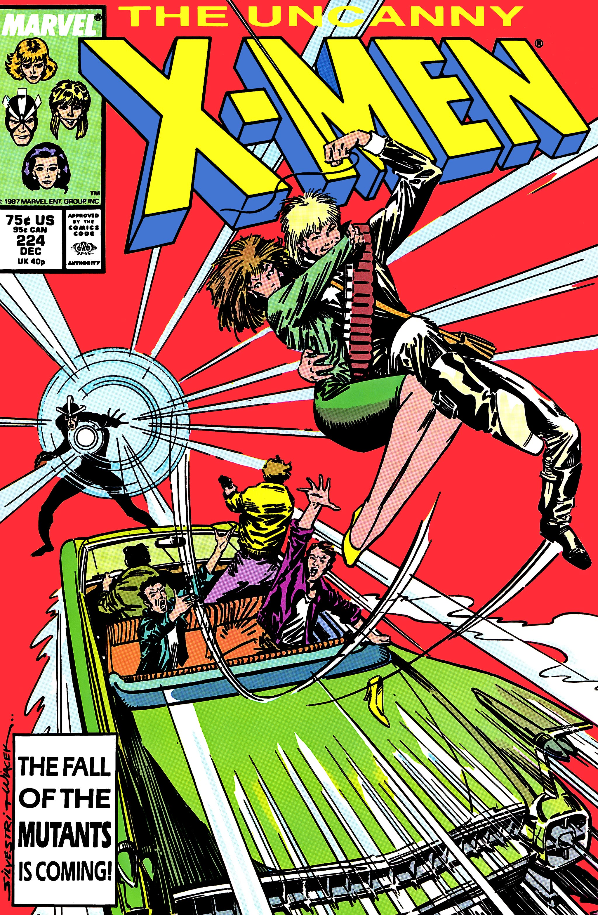 Uncanny X-Men (1963) 224 Page 1