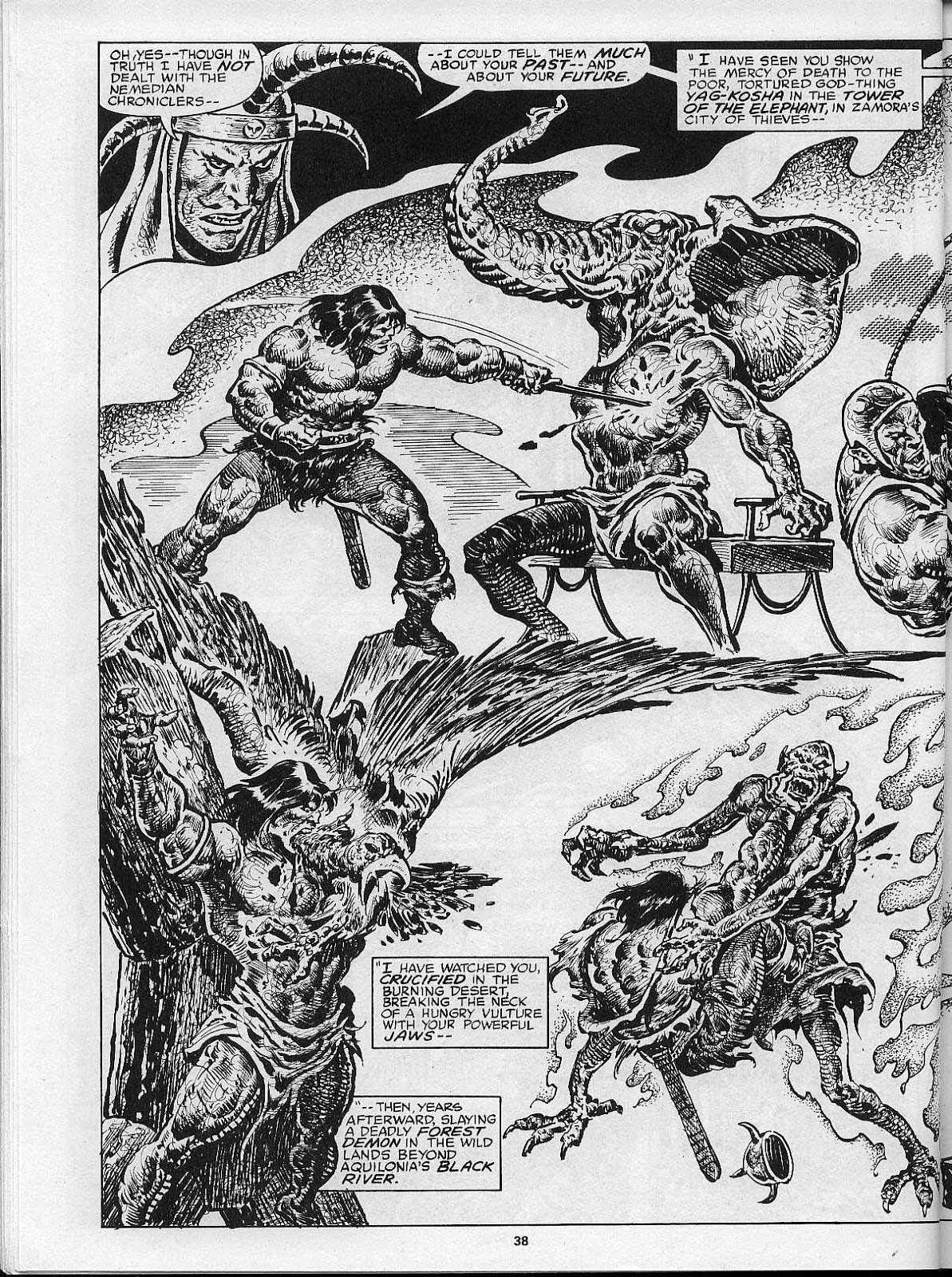 The Savage Sword Of Conan Issue #200 #201 - English 40
