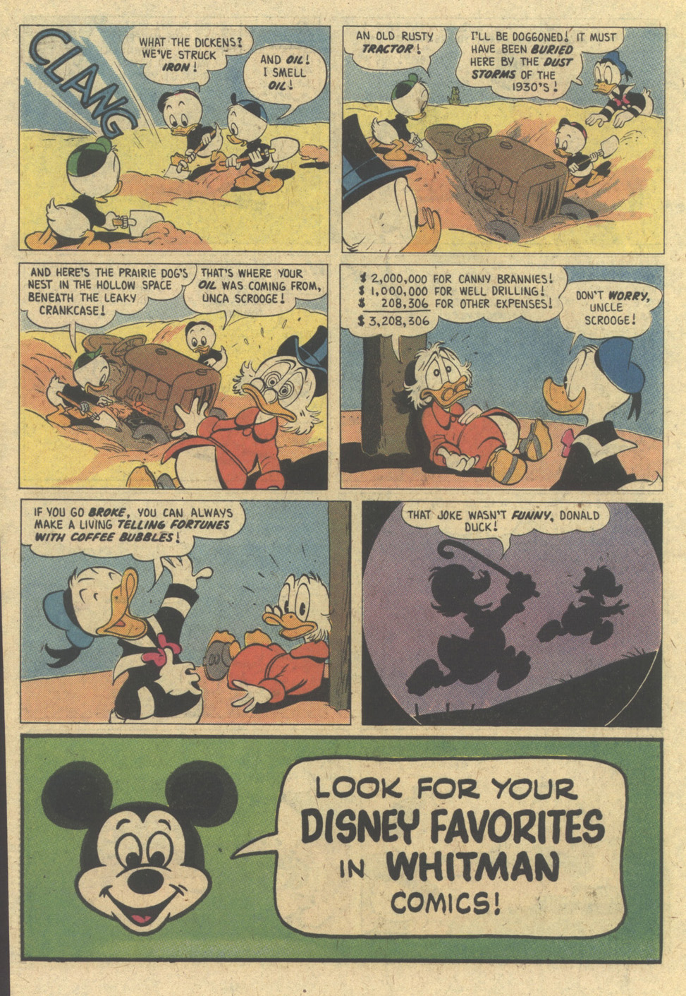 Uncle Scrooge (1953) Issue #188 #188 - English 34