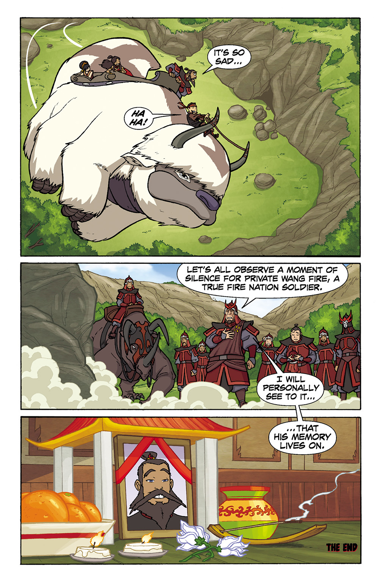 Nickelodeon Avatar: The Last Airbender - The Lost Adventures chap full pic 139
