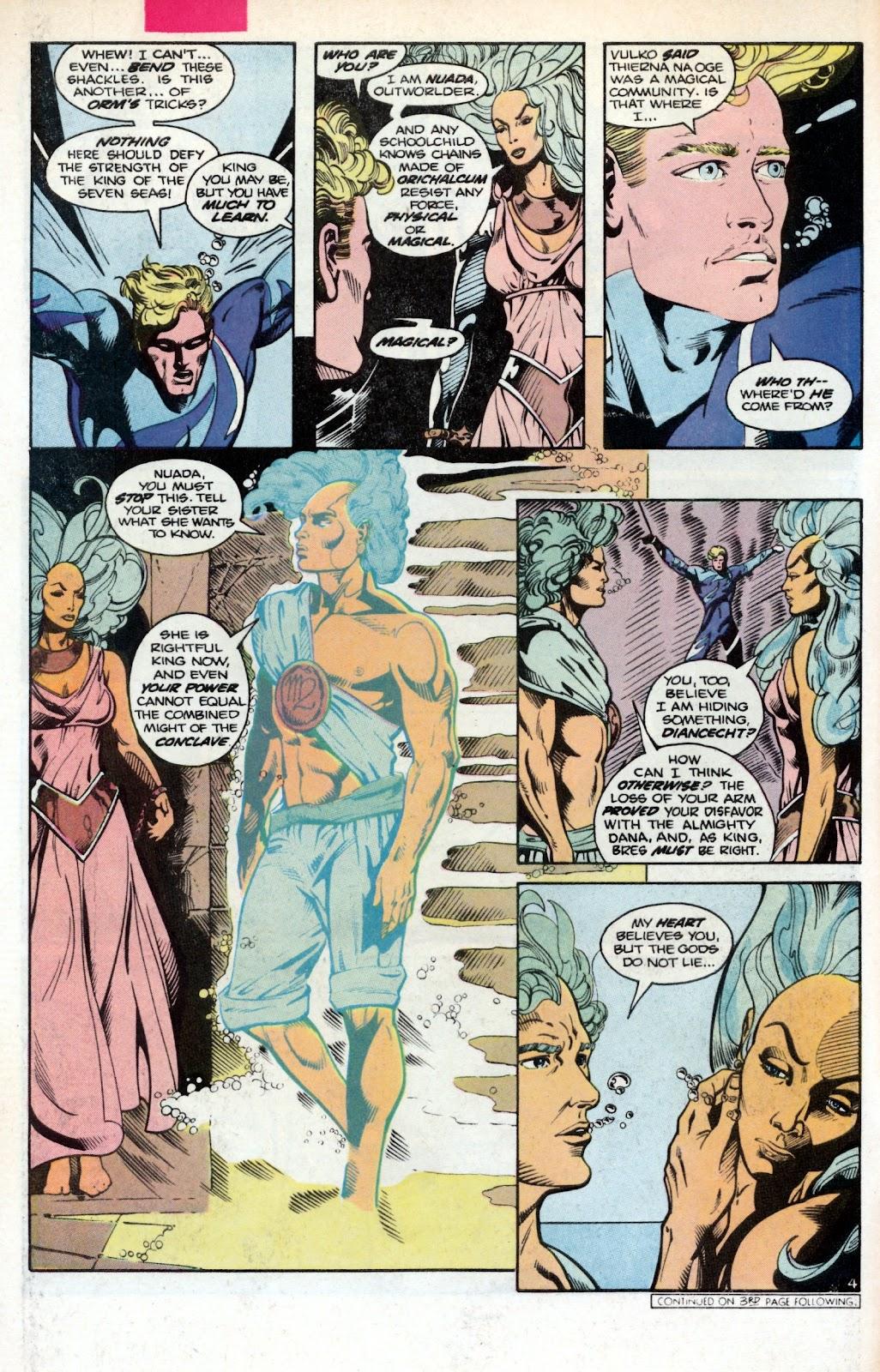 Aquaman (1986) Issue #2 #2 - English 6