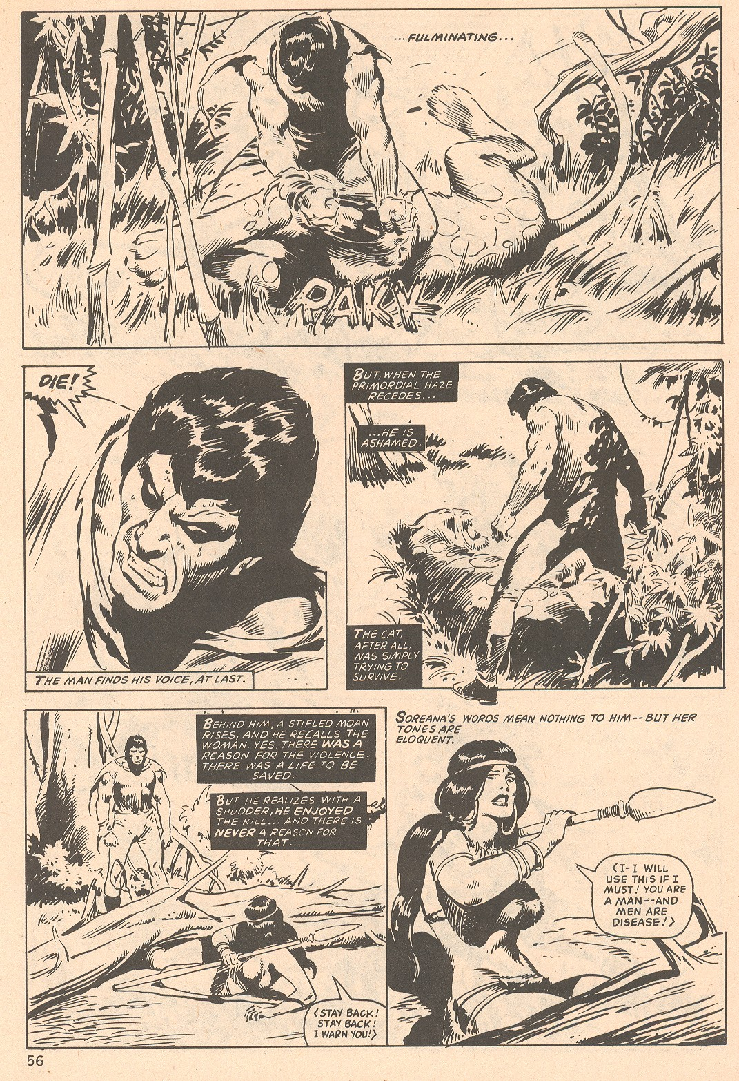 The Savage Sword Of Conan Issue #66 #67 - English 56