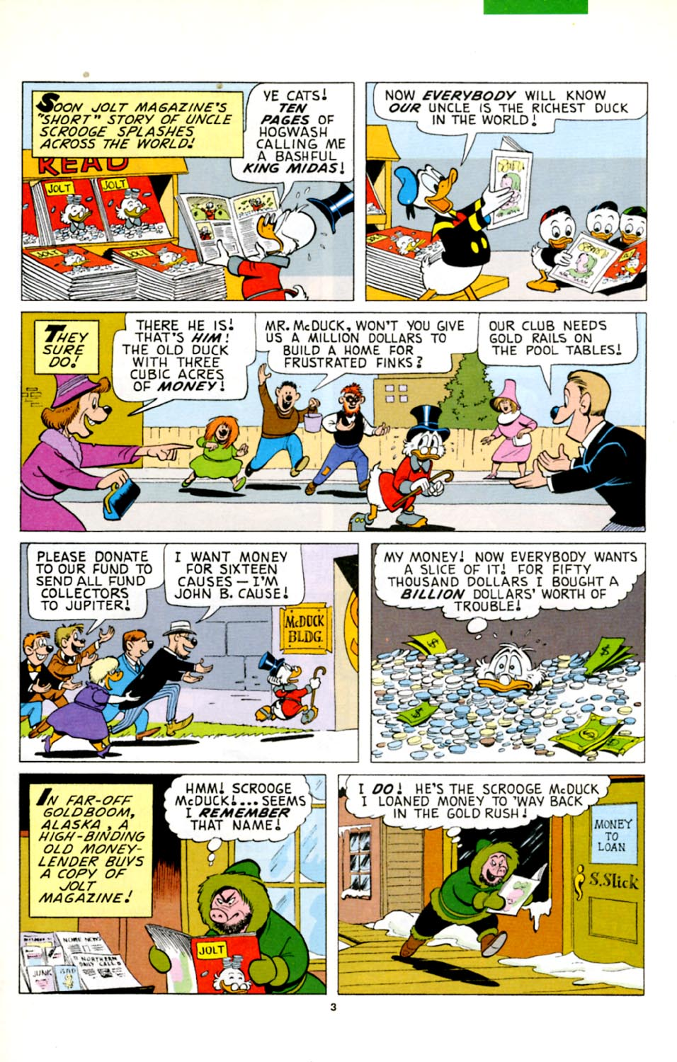 Uncle Scrooge (1953) Issue #278 #278 - English 4