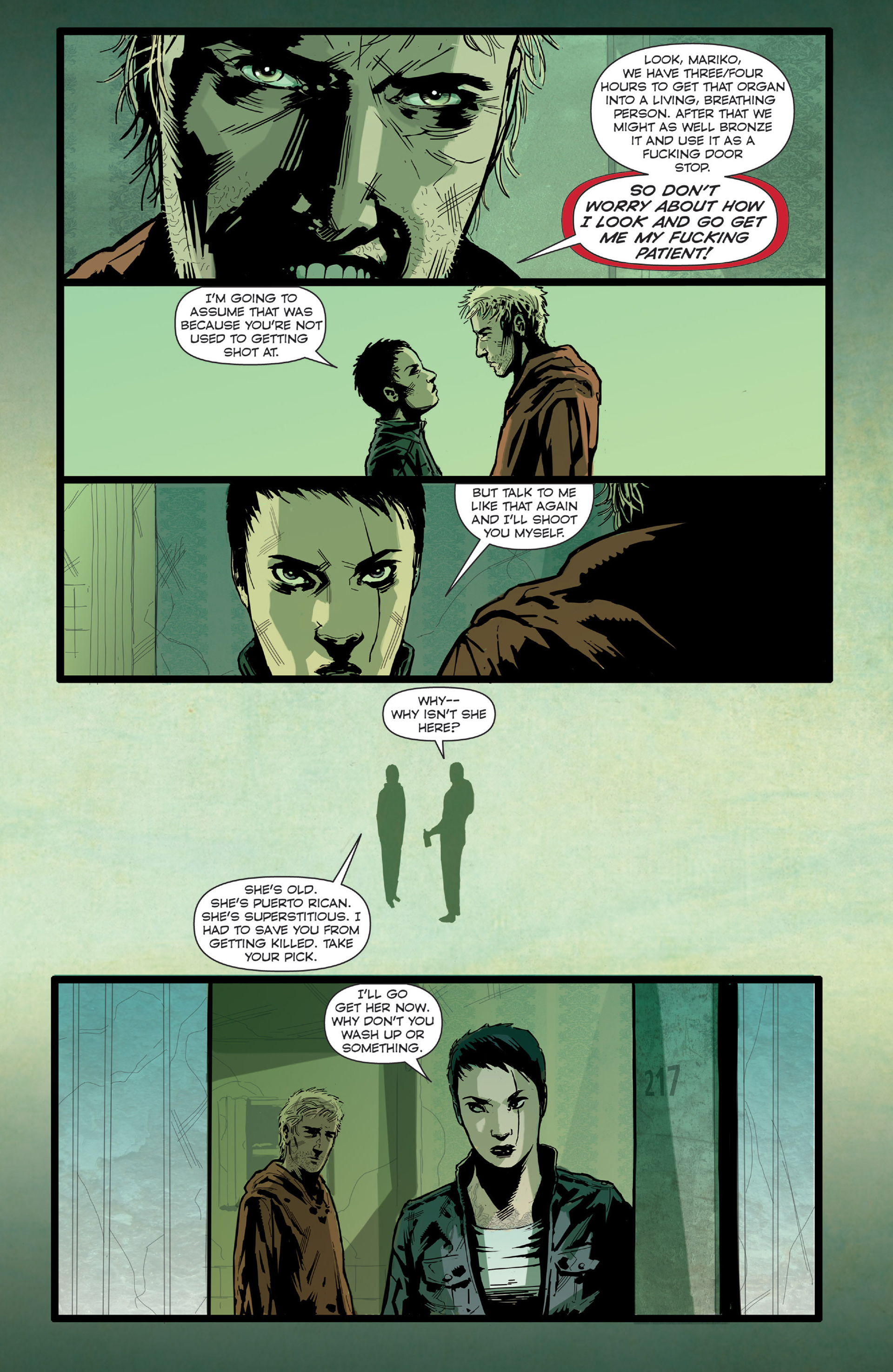 Read online Harvest comic -  Issue #4 - 15