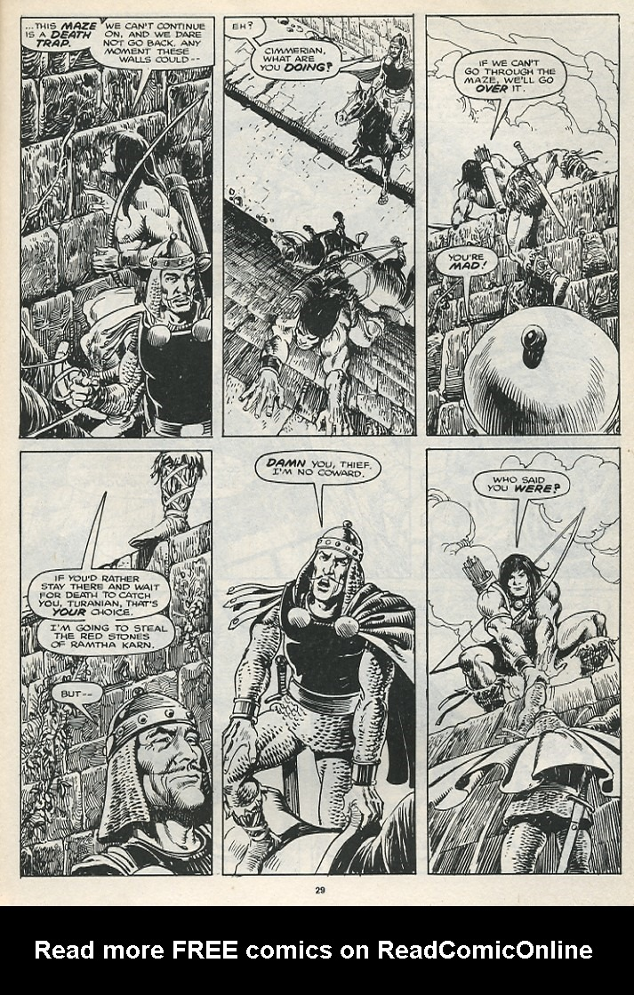 The Savage Sword Of Conan Issue #174 #175 - English 31
