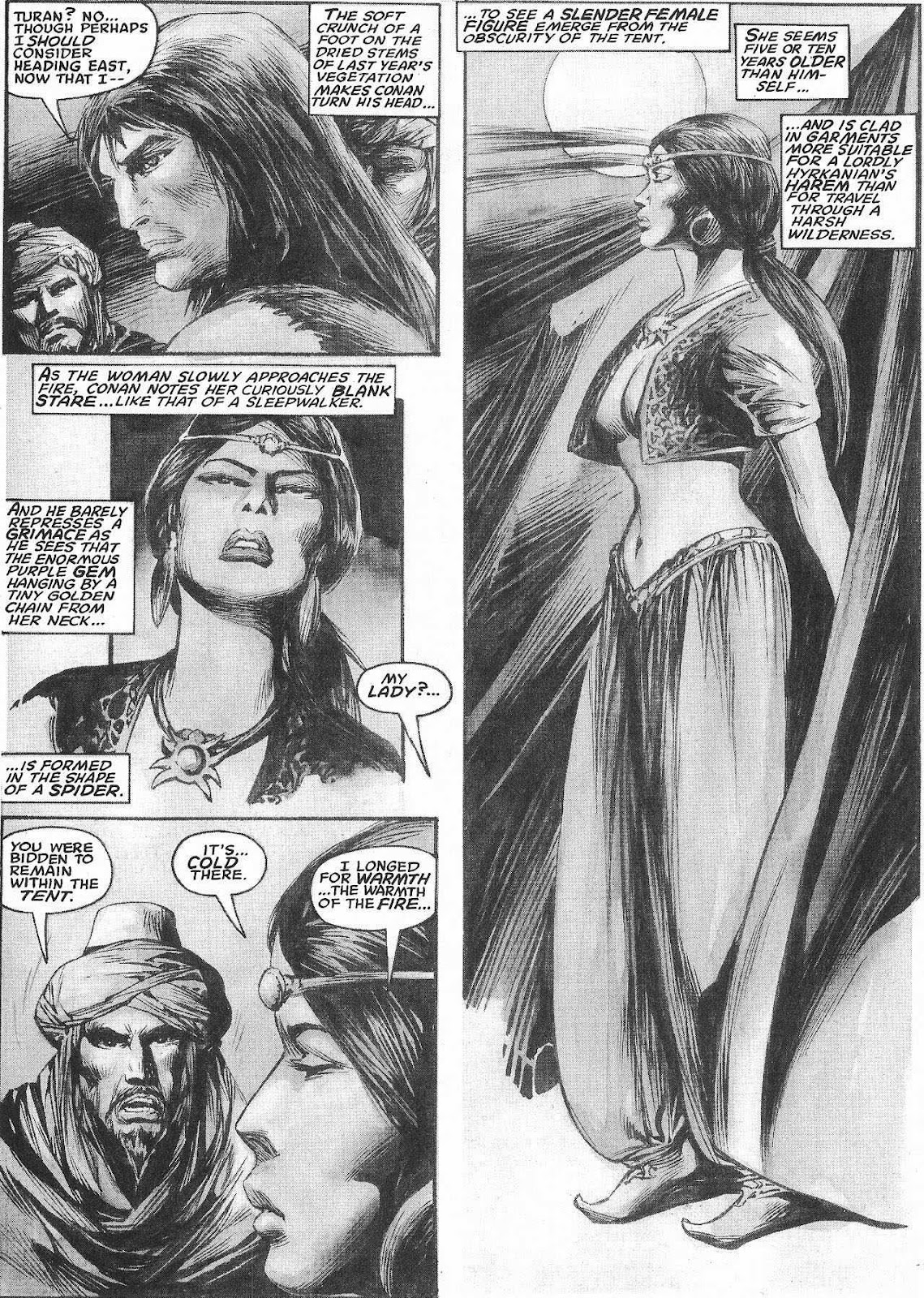 The Savage Sword Of Conan Issue #207 #208 - English 18