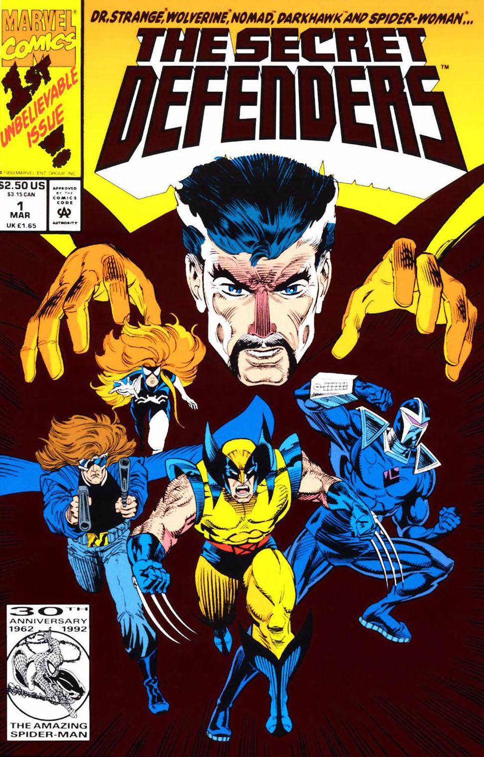 Read online Secret Defenders comic -  Issue #1 - 1