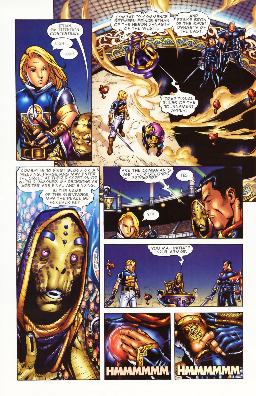 Read online Scion comic -  Issue #1 - 19